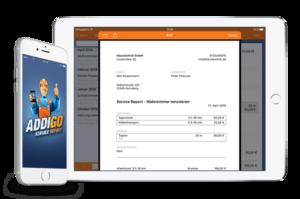 Anschließend erhalten Kunden & Ihre Buchhaltung den gerade erstellen Service Report per E-Mail!
