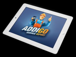 iPad mit ADDIGO App